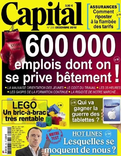 Capital N°255 Décembre 2012