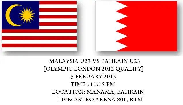 malaysia vs bahrain poster,