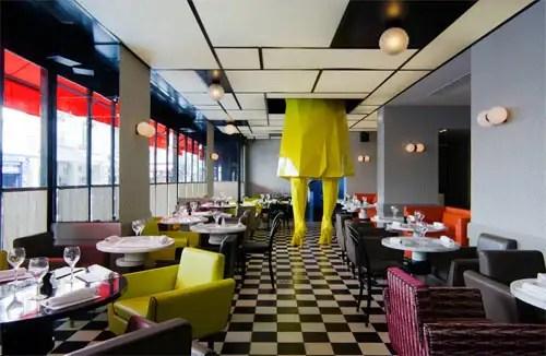 Restaurante Germain, India Mahdavi