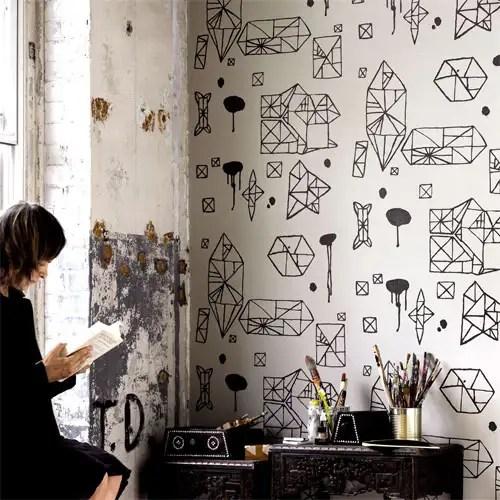 Wall Paper, Nama Rococo