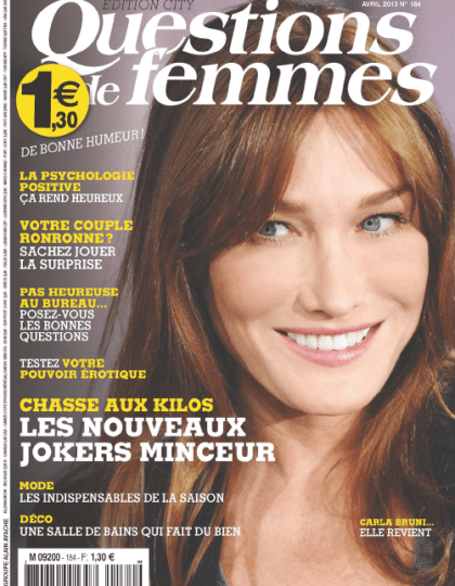 Questions de Femmes N°184 Avril 2013
