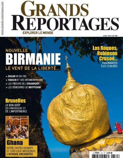 Grands Reportages N°380 Avril 2013