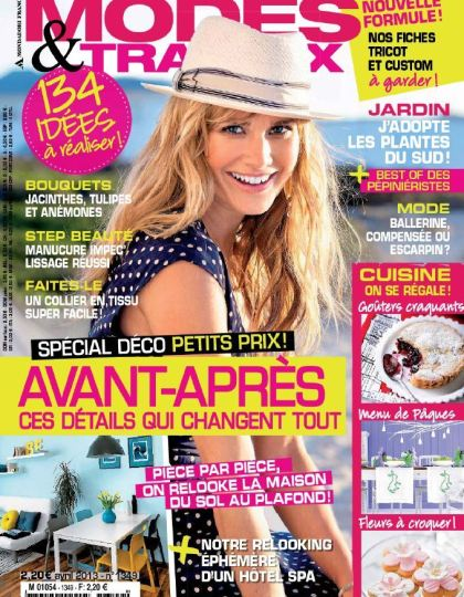 Modes & Travaux N°1349 Avril 2013