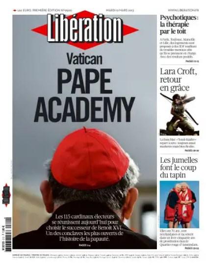 Libération Mardi 12 Mars 2013