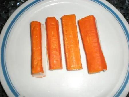 Palitos de cangrejo