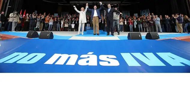 ivafuera - Rajoy mintió y hace un sablazo de mal gobernante subiendo el IVA