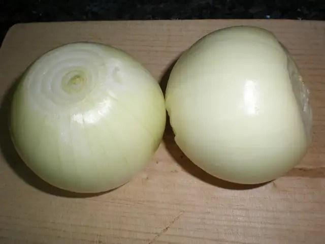 Cebollas enteras