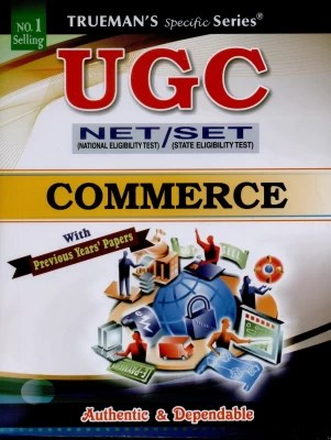 Buy Trueman's UGC NET National Eligibility Test/SET State Eligibility Test Commerce 1st Edition: Book