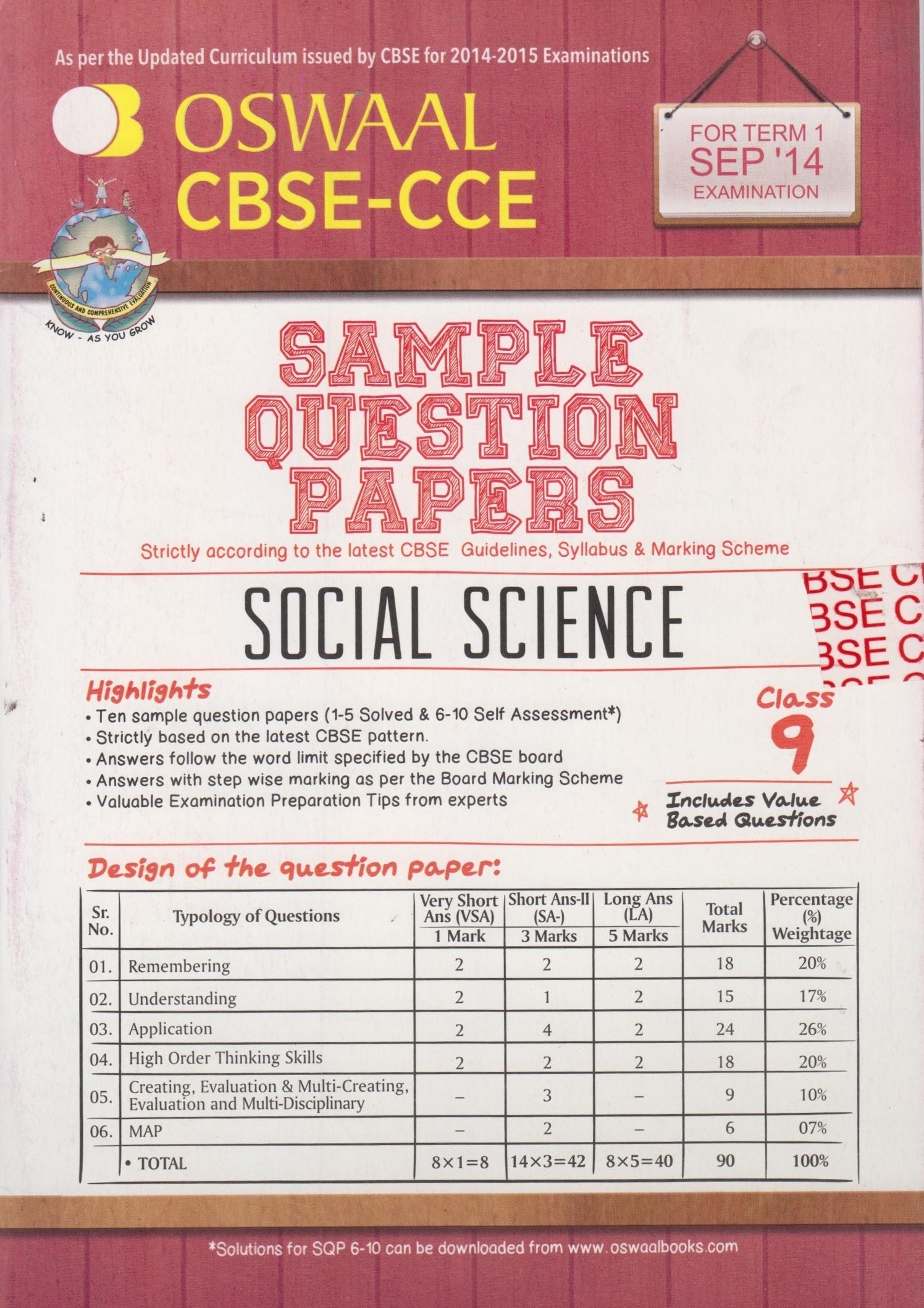 Cbse Sample Papers Class 9 Term 1 Sample Essays
