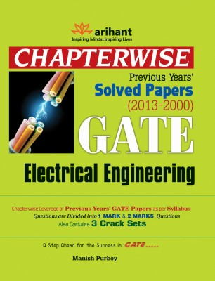 Buy Chapterwise Previous Years Solved Papers (2013-2000) GATE Electrical Engineering: Book