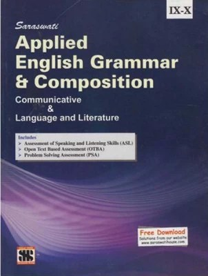 Buy Saraswati Applied English Grammar and Composition : Communicative & Language & Literature (Class 9 -10): Book