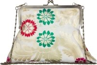 The House of Tara Tibetan Brocade 07 Women Formal, Casual, Party Multicolor Silk Clutch: Clutch