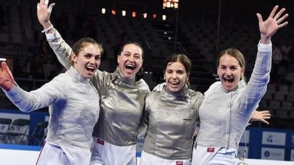 Российские саблистки взяли «золото» на Чемпионате Европы ...