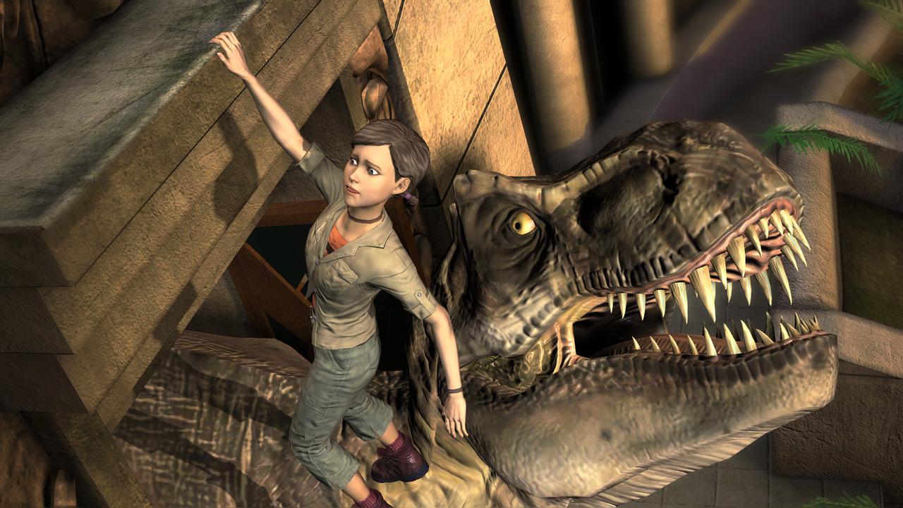 Jurassic Park The Game Z Dat Premiery Grampl