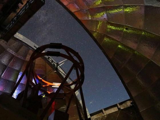 2001 FO32 관측을위한 NASA 적외선 망원경 시설 (IRTF)