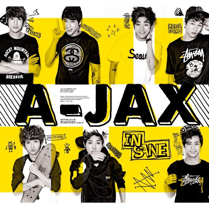 [Mini Album] A-JAX - Insane [2nd Mini Album]