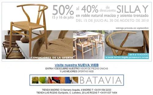 Batavia, silla Y