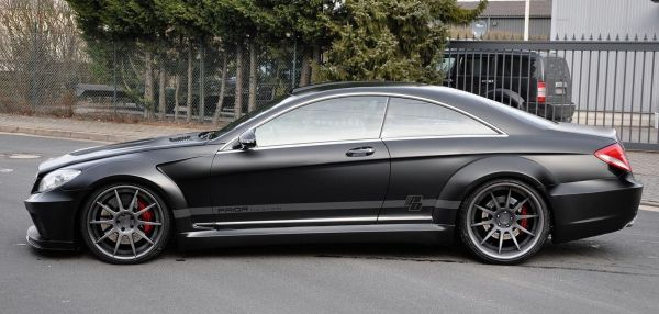 World Otomotif: Mercedes-Benz CL 500 (W216) Black Edition ...