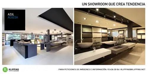 Nuevo showroom AZUL ACOCSA