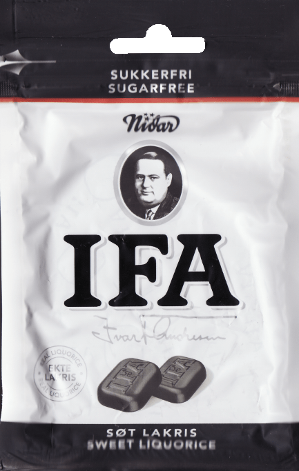 IFA sugarfree sweet liquorice