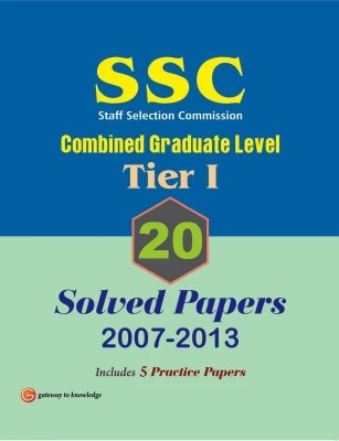 Buy SSC Combined Graduate Level (Tier 1) : 20 Solved Papers (2007 - 2013) 10th Edition: Book