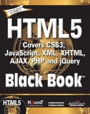 Buy Html5 Black Book:Covers Css3,Javascript,Xml,Xhtml,Ajax,Php And Jquery: Book