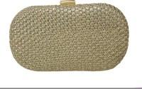 Balee Fashions Women Party Gold Tiki  Clutch