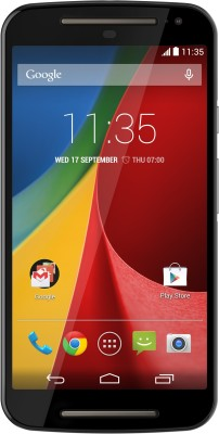 Moto G 2nd Gen Black, with 16 GB Android smartphone