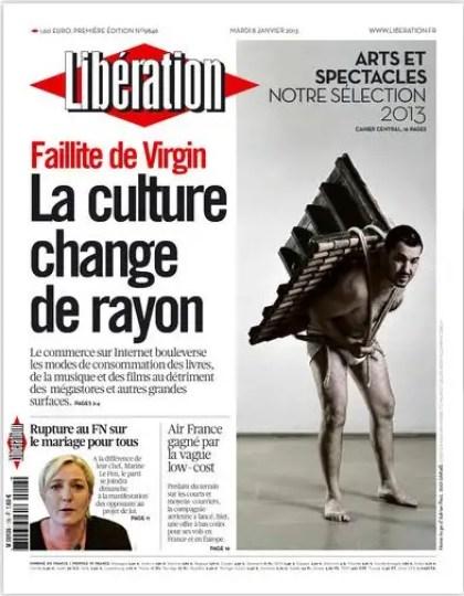Libération Mardi 8 janvier 2013