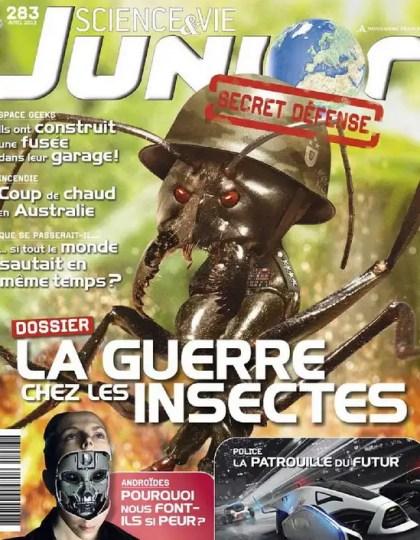 Science et Vie Junior N°283 Avril 2013
