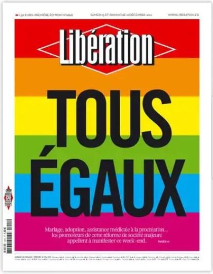 Libération Samedi 15 et dimanche 16 décembre 2012