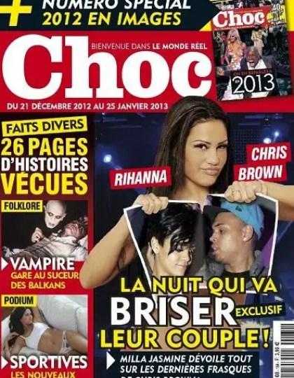 Choc N°164 du 21 Décembre 2012 au 25 Janvier 2013