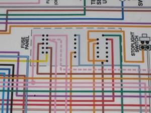 Reading Wiring Diagram for '68 Fuse Panel  Team Camaro Tech