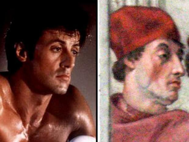 noticias Stallone aparece en pintura de Rafael de 1511 en el Vaticano