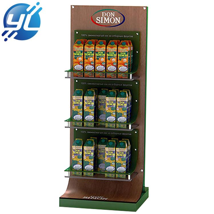 beverage display rack manufactuer