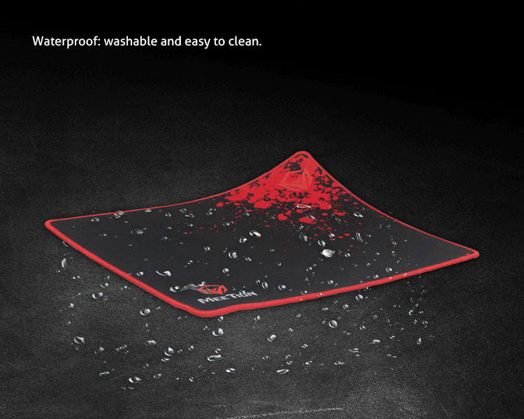 Waterproof : washa ble and easy to clean.