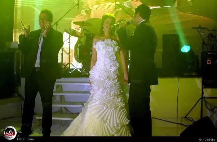 صور النجم عمرو دياب فى حفل زفاف الفنان محمد حماقى ونهلة الحجرى 2011 / 12 / 7