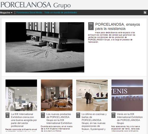 Porcelanosa blog