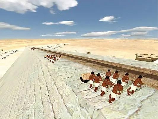 noticias Cómo se construyeron las pirámides de Egipto