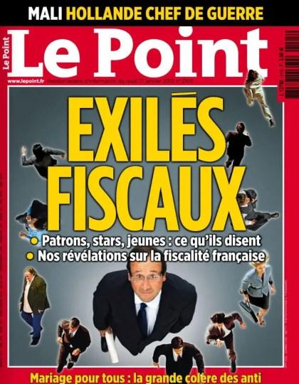 Le Point N°2105 du 17 au 23 Janvier 2013