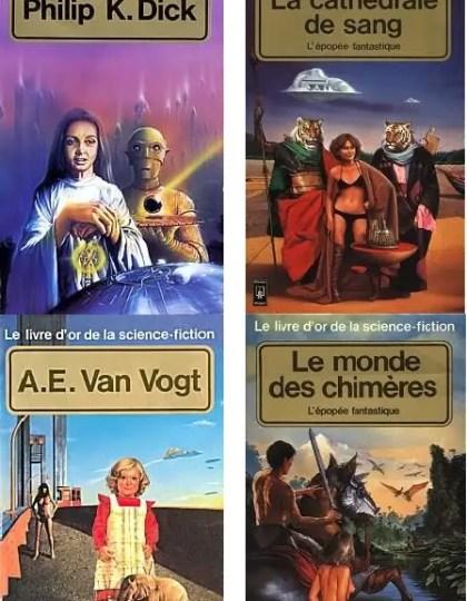 Livre d'Or de la Science Fiction - 35 Epubs