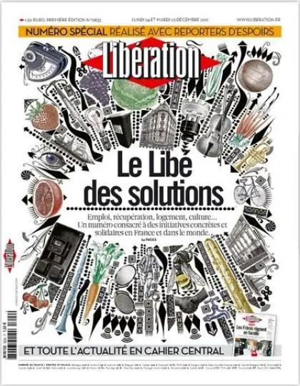 Libération Lundi 24 et mardi 25 décembre 2012