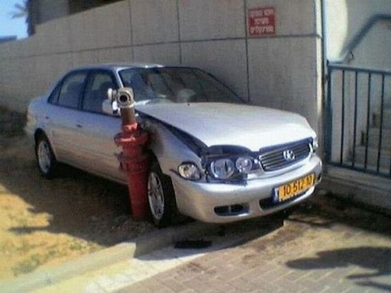 48390111 - Accidentes bizarros de coches