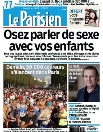Le Parisien Samedi 06 Avril 2013