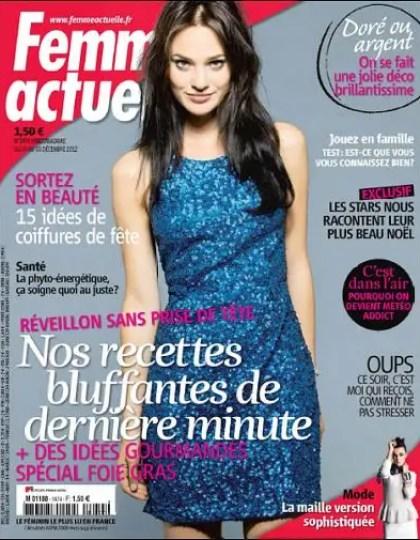 Femme Actuelle N°1474 du 24 au 30 Décembre 2012