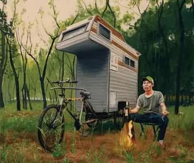 camperbike5 - Camper bike, la bicicleta caravana y casa portatil mas eficiente