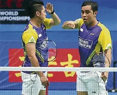 beregu malaysia mara ke pusingan ke3, guanzhau kejohanan badminton 2013,