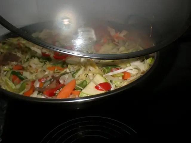 Tapar el wok