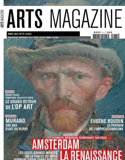 Arts Magazine N°75 Avril 2013