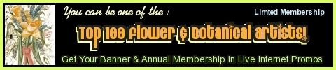 TOP 100 FLOWER & BOTANICAL ARTISTS